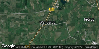 Google Map of Wanderup
