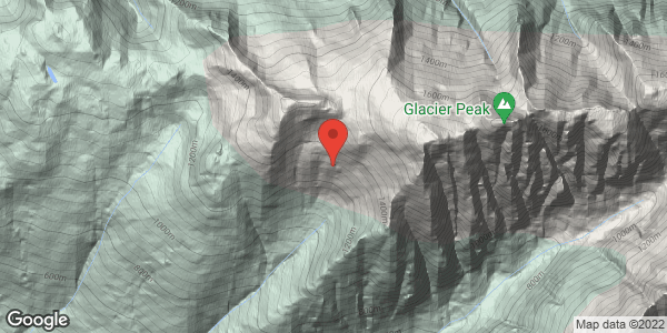 Glacier Peak, main bowl