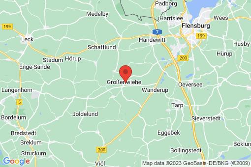 Karte Großenwiehe