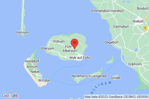 Karte Oevenum