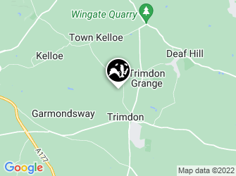 A static map of Trimdon Grange Quarry
