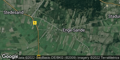Google Map of Enge-Sande