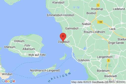 Karte Dagebüll