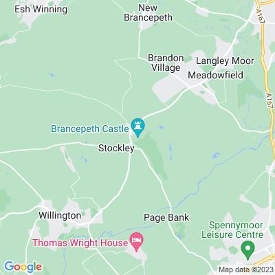Brancepeth Castle Location