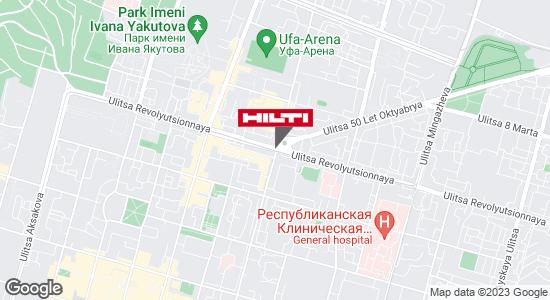 Региональный представитель Hilti в г. Уфа