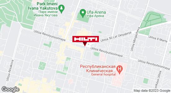 Get directions to Региональный представитель Hilti в г. Уфа