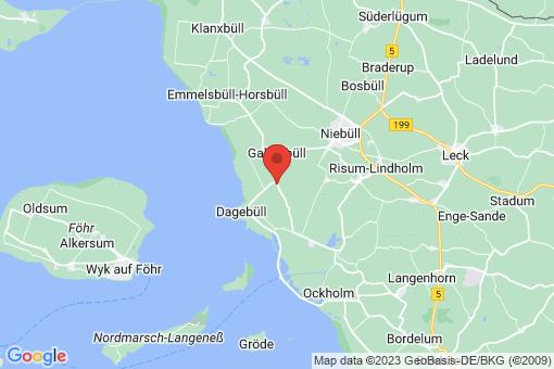 Karte Galmsbüll