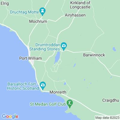 Monreith Location