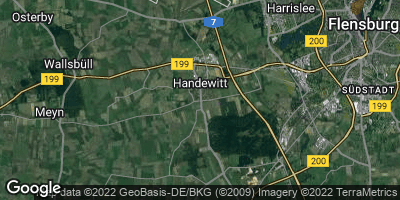 Google Map of Handewitt
