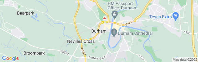 Map Of Durham