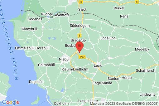 Karte Klixbüll