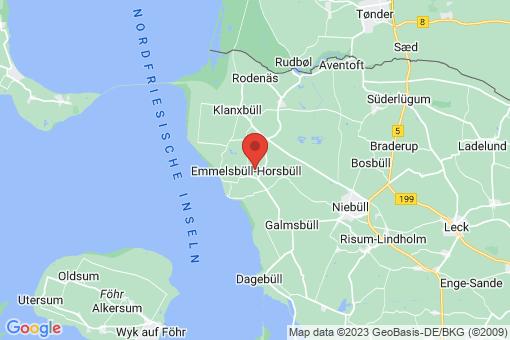 Karte Emmelsbüll-Horsbüll
