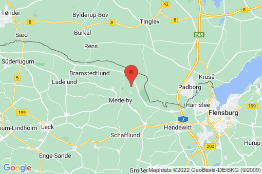Karte Jardelund