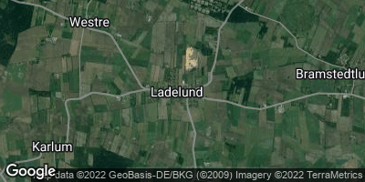 Google Map of Ladelund
