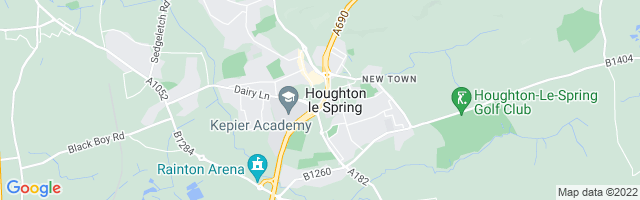 Map Of Houghton le Spring