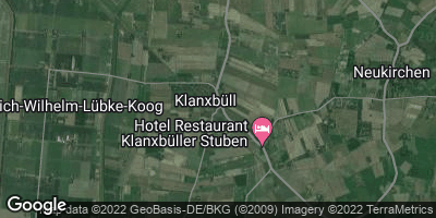 Google Map of Klanxbüll