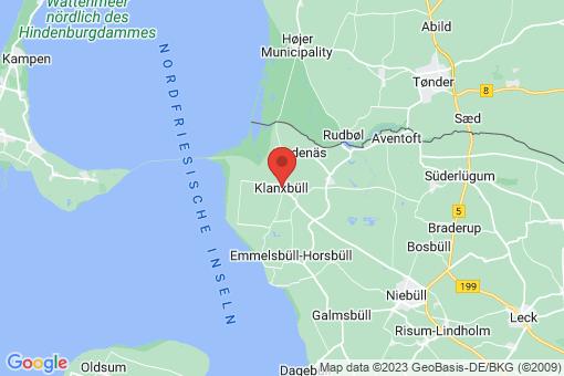 Karte Klanxbüll