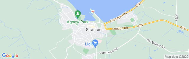 Map Of Stranraer
