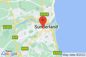 University of Sunderland - Murray Library on the map
