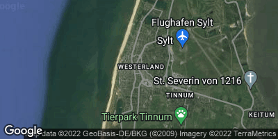 Google Map of Westerland