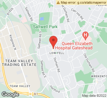 Map of Low Fell Florists at 515-517 Durham Road, Gateshead, Tyne And Wear NE9 5EY