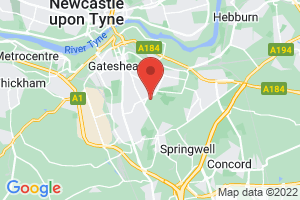 Gateshead Health NHS Foundation Trust Library on the map