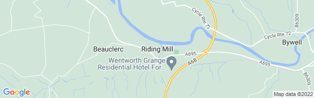 Map Of Riding Mill