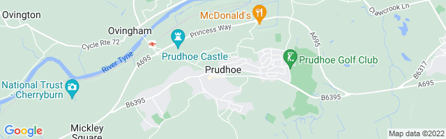 Map Of Prudhoe