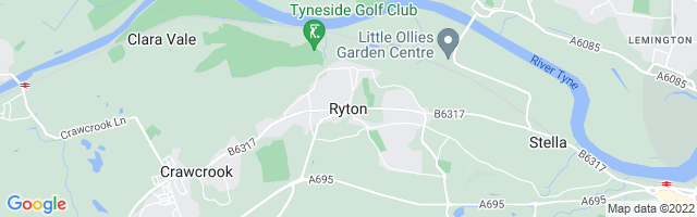 Map Of Ryton