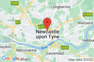Newcastle University, Walton Library on the map