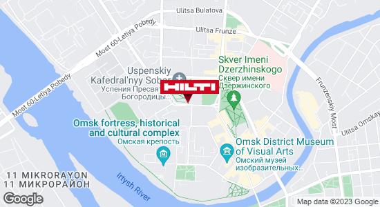 Региональный представитель Hilti в г. Омск
