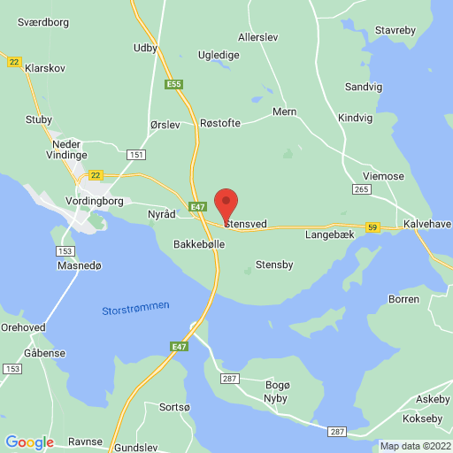 Sportigan Langebæk Cup 2019 map