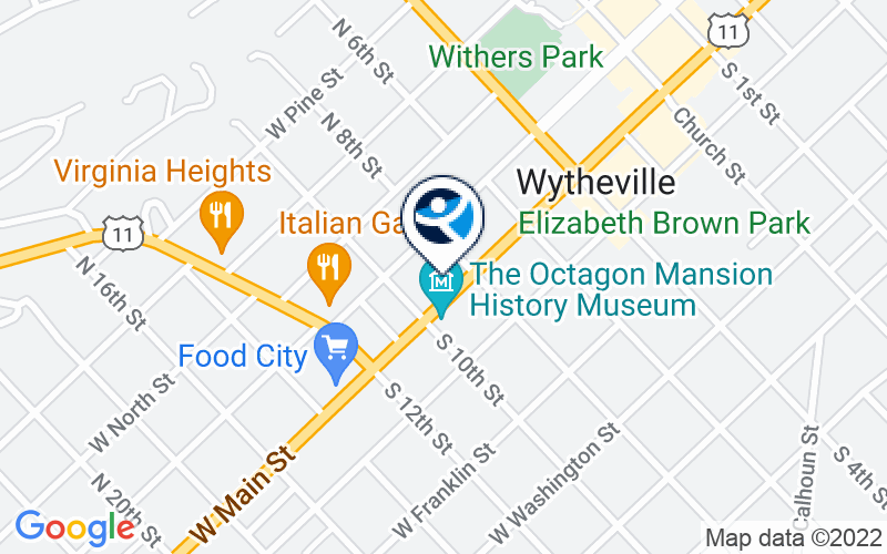 Wythe Youth and Family Services Location and Directions
