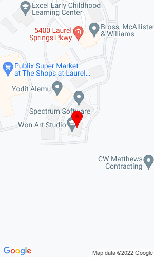 Google Map of 1st Quality Equipment Company 5400 Laurel Springs Parkway, Suwanee, GA, 30024