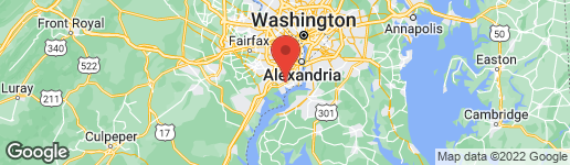 Map of 5401 CLAYMONT DRIVE 001/01 ALEXANDRIA, VA 22309
