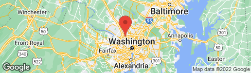Map of 5402 SPRUCE TREE AVENUE BETHESDA, MD 20814