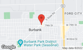 Map of 5406 West 79th Street BURBANK, IL 60459