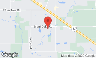Map of 541 Merri Oaks Road BARRINGTON HILLS, IL 60010