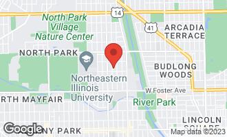 Map of 5415 North Christiana Avenue CHICAGO, IL 60625