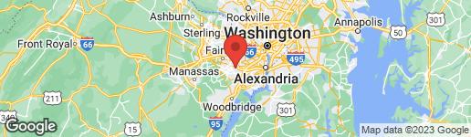 Map of 5417 INVERCHAPEL ROAD SPRINGFIELD, VA 22151