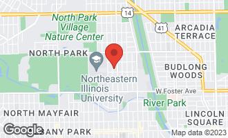 Map of 5417 North Bernard Street CHICAGO, IL 60625