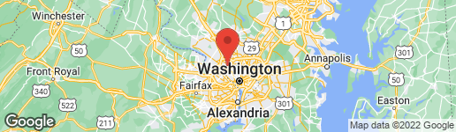 Map of 5420 AUDUBON ROAD BETHESDA, MD 20814