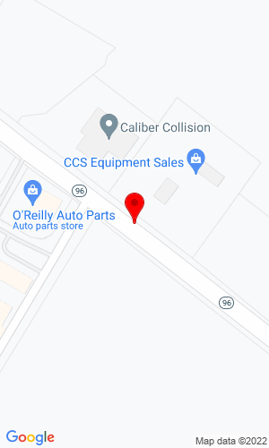 Google Map of CCS Equipment Sales, LLC 5428 Hwy 96, Youngsville, NC, 27596