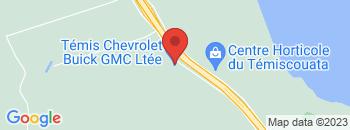 Google Map of 543%2C+Montee+du+Detour%2CTemiscouata-Sur-Le-Lac%2CQuebec+G0L+1X0