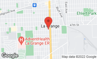 Map of 543 South Madison Avenue LA GRANGE, IL 60525