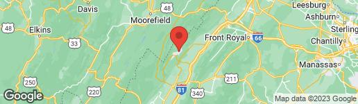 Map of 544 WILLOW LANE MOUNT JACKSON, VA 22842