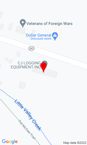 Google Map of Lyons Equipment Company 5445 NYS Rt 353, Little Valley, NY, 14755