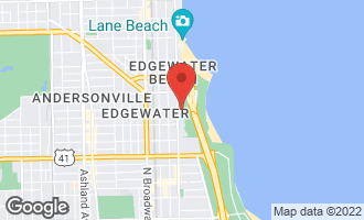 Map of 5455 North Sheridan Road #1804 CHICAGO, IL 60640