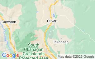 Map of Maple Leaf Motel & RV Campground Resort