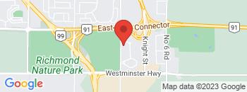 Google Map of 5491+Parkwood+Way%2CRichmond%2CBritish+Columbia+V6V+2M9